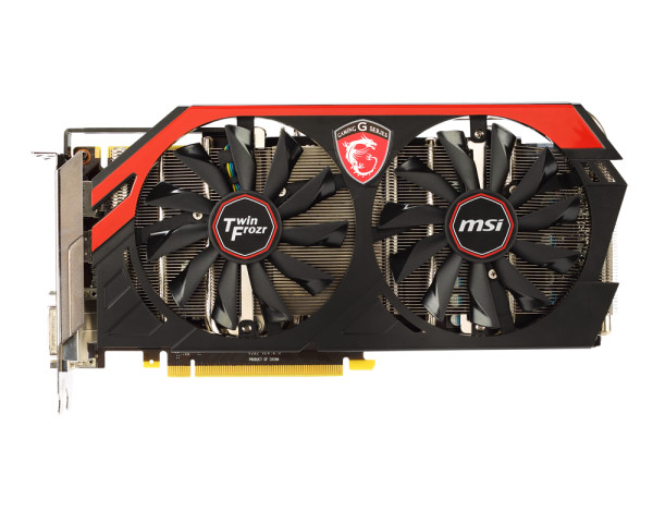Carte graphique MSI GeForce GTX 760 Twin Frozr Gaming OC ...