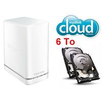 D-Link DNS-327L + 2 x Western Digital WD Red, 3 To