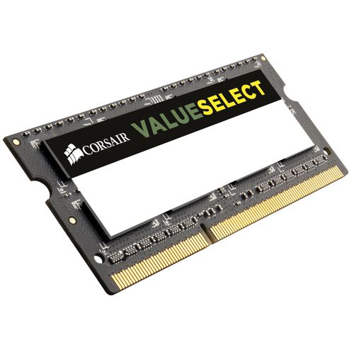 SO-DIMM DDR3 Corsair Value Select, 4 Go, 1600 MHz, CAS 11