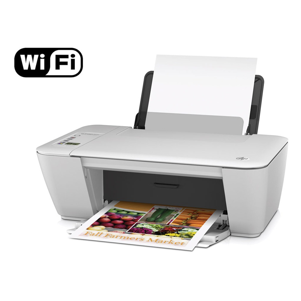 how to connect hp deskjet 2542 to wireless network