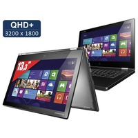 Comparer LENOVO YOGA2PRO 59400095 GRIS INTEL CORE I5 4200U 1.6GHZ 4GO 128GO WIN8