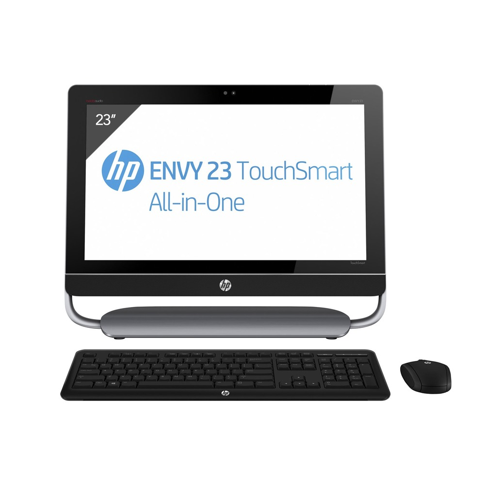 hp tout en un envy 23 d220ef touchsmart ecran 23 full hd. Black Bedroom Furniture Sets. Home Design Ideas