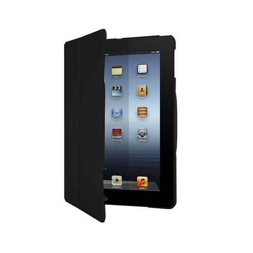 etui noir pour ipad air flip view thd039eu targus top achat. Black Bedroom Furniture Sets. Home Design Ideas