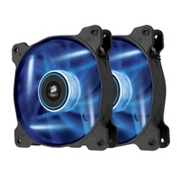 Pack de 2 ventilateurs Corsair AF120 Quiet Edition, 120 mm, LED bleue