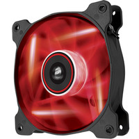 Corsair AF140 Quiet Edition, 140 mm, LED rouge