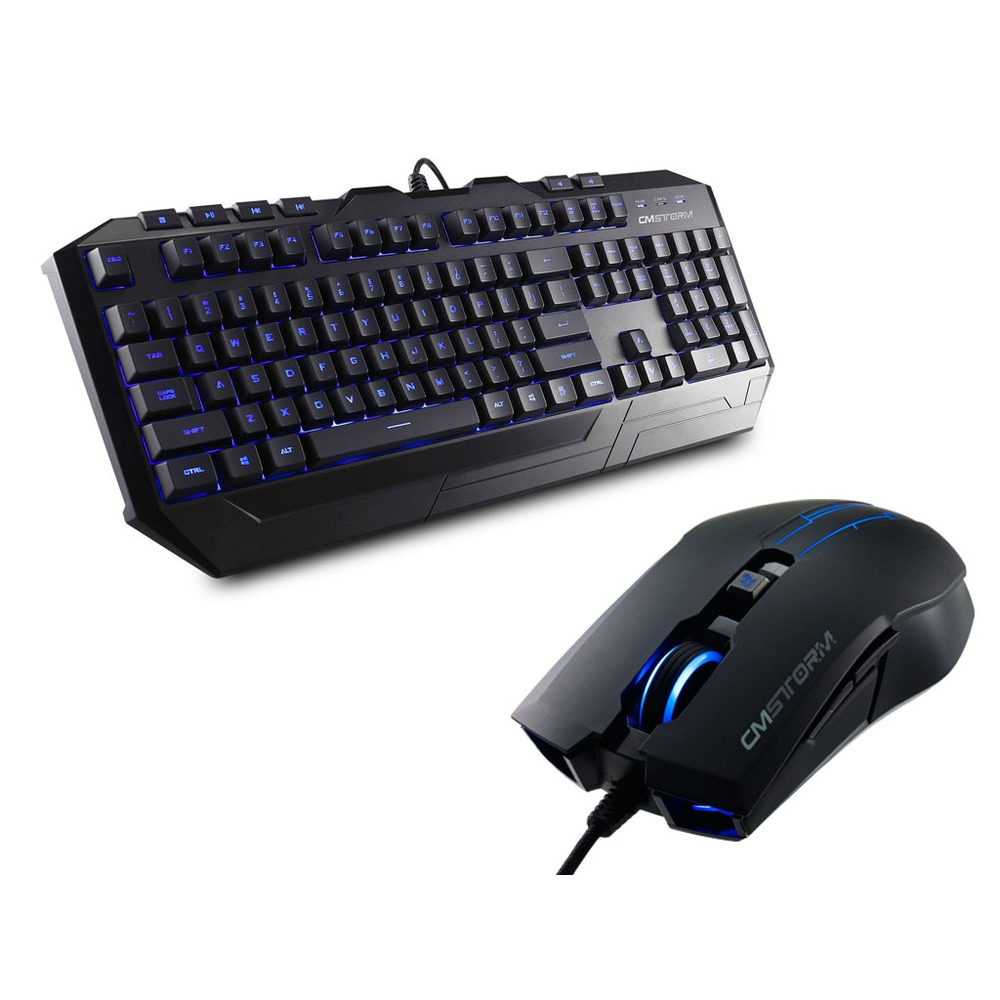 cooler master cm storm devastator led bleues azerty top achat. Black Bedroom Furniture Sets. Home Design Ideas