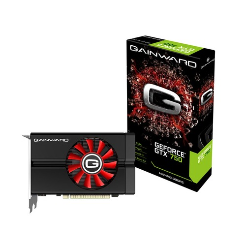 Carte graphique Gainward GeForce GTX 750, 1 Go