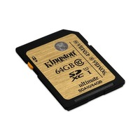 Carte m�moire SDHC Kingston UHS-I Ultimate, Classe 10, 64 Go