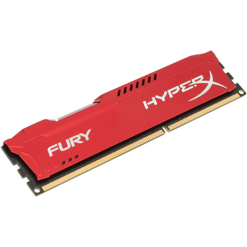 DDR3 HyperX Fury Red - 4 Go 1600 MHz - CAS 10