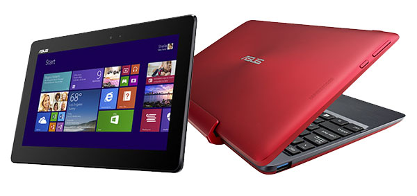 asus transformer book t100ta dk053h rouge 10 1 hd. Black Bedroom Furniture Sets. Home Design Ideas