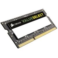 SO-DIMM DDR3L Corsair Value Select, 4 Go, 1600 MHz, CAS 11