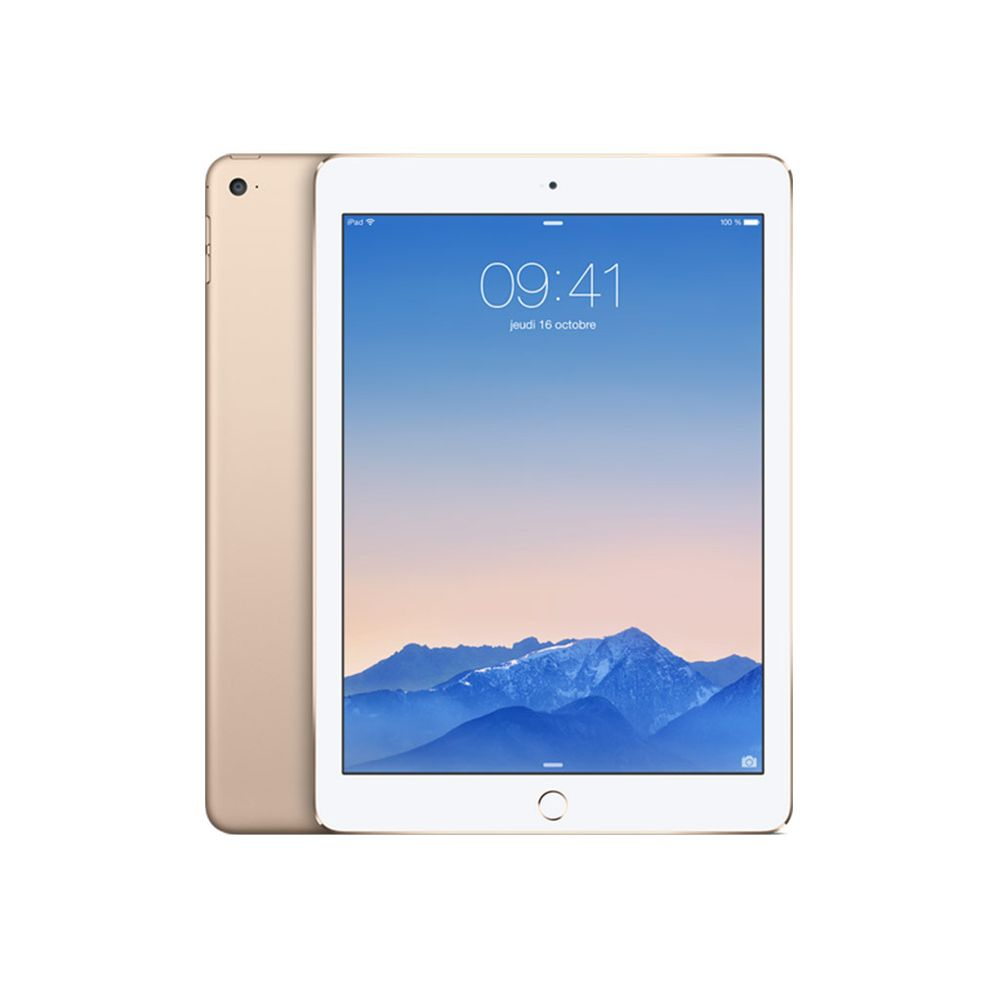 apple ipad air 2 128 go or 9 7 retina top achat. Black Bedroom Furniture Sets. Home Design Ideas