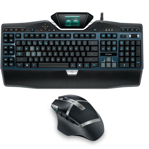 pack gaming logitech clavier g19s azerty souris g602. Black Bedroom Furniture Sets. Home Design Ideas