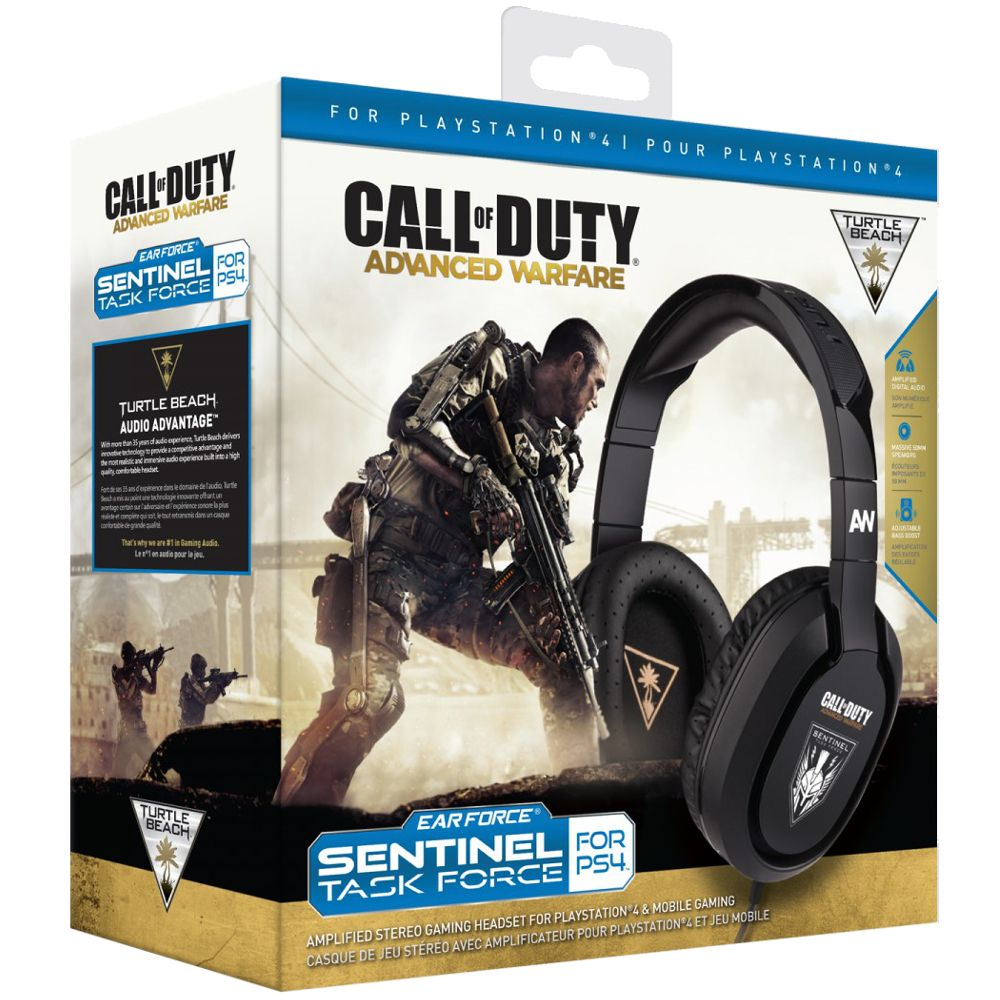 casque gamer turtle beach ear force call of duty advanced warfare ps4 achat pas cher avis. Black Bedroom Furniture Sets. Home Design Ideas