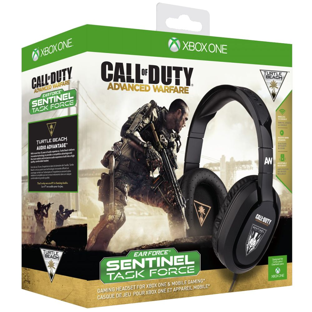 casque gamer turtle beach ear force call of duty advanced warfare xbox one top achat. Black Bedroom Furniture Sets. Home Design Ideas