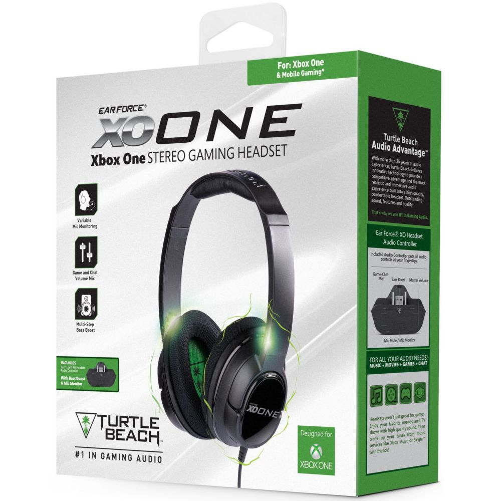 casque gamer turtle beach ear force xo one xbox one top achat. Black Bedroom Furniture Sets. Home Design Ideas