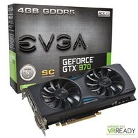 EVGA GeForce GTX 970 SuperClocked GAMING ACX 2.0, 4 Go