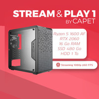PC STREAM & PLAY 1 BY CAPETLEVRAI