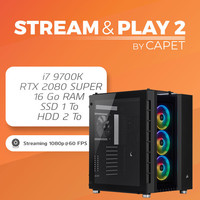 PC STREAM & PLAY 2 BY CAPETLEVRAI