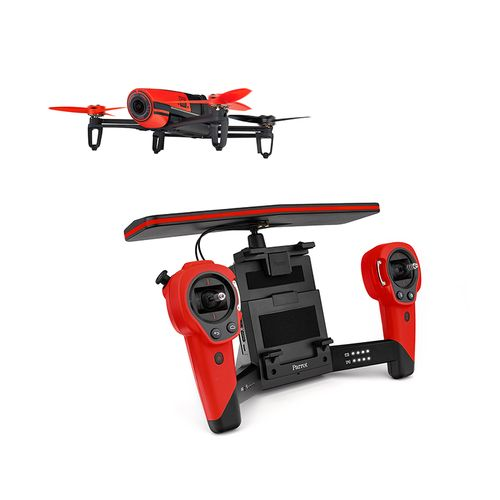 parrot bebop drone sky controller rouge achat pas cher avis. Black Bedroom Furniture Sets. Home Design Ideas