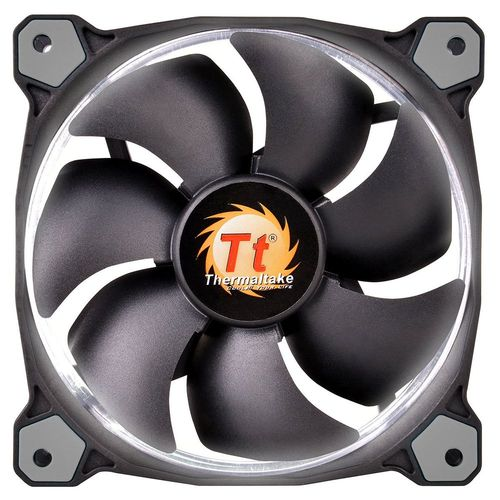 Thermaltake Riing, 120 mm (LED Blanches)