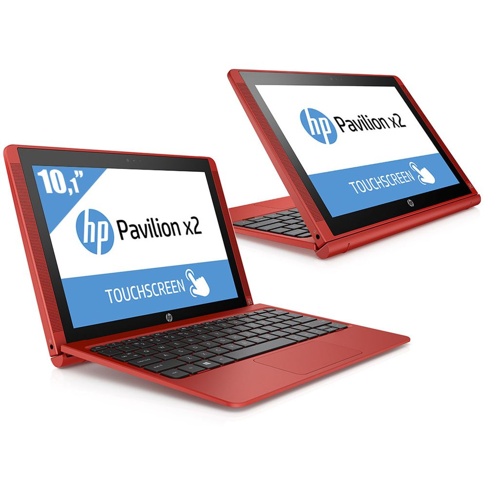hp pavilion x2 10 n005nf rouge 10 1 hd tactile top achat. Black Bedroom Furniture Sets. Home Design Ideas