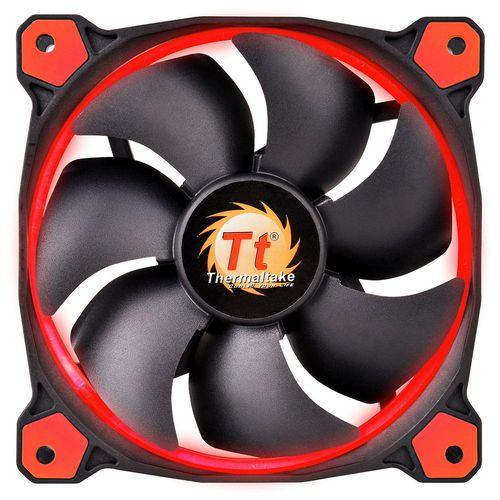 Thermaltake Riing, 140 mm (LED Rouges)