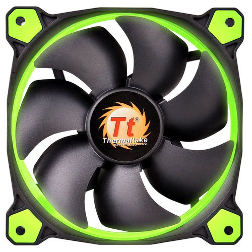 Thermaltake Riing, 140 mm (LED Vertes)