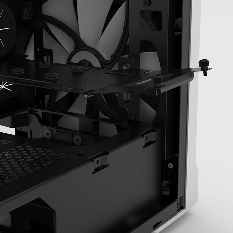 Phanteks enthoo evolv itx blanc noir version fen tre for Fenetre 24 avis