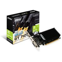 MSI GeForce GT 710 1GD3H LP (1 Go)
