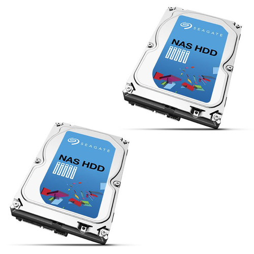 Lot de 2 Seagate NAS HDD, 6 To