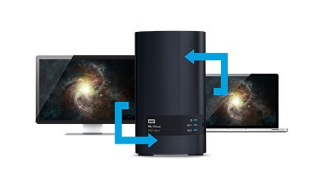 Western Digital My Cloud Ex2 Ultra 8 To Achat Pas Cher border=