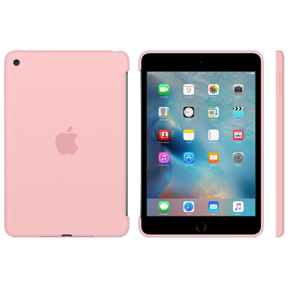 apple ipad mini 4 silicone case rose top achat. Black Bedroom Furniture Sets. Home Design Ideas