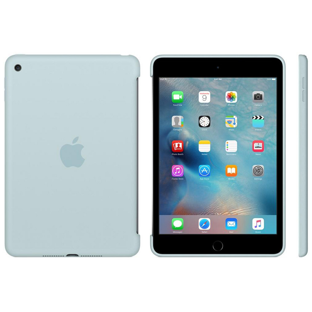 apple silicone case pour ipad mini 4 turquoise achat pas cher avis. Black Bedroom Furniture Sets. Home Design Ideas