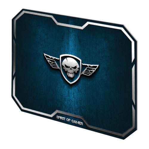 Spirit of Gamer Winged Skull, Bleu