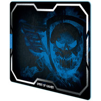 Spirit of Gamer Smokey Skull XL, Bleu