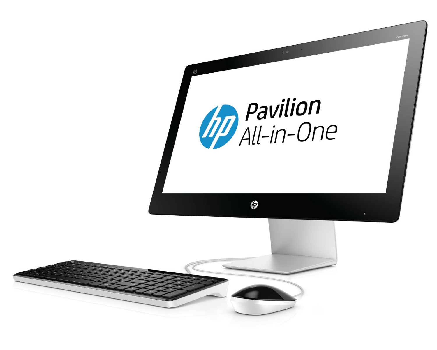 hp pavilion all in one 23 q208nf ordinateur de bureau ordinateurpascher. Black Bedroom Furniture Sets. Home Design Ideas