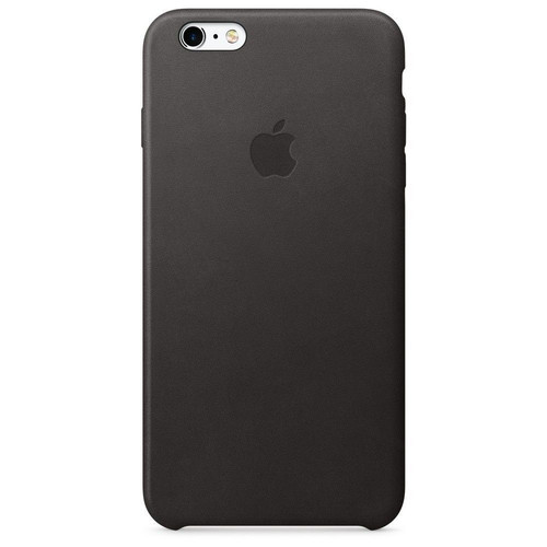 Apple Leather Case pour iPhone 6S Plus Noir