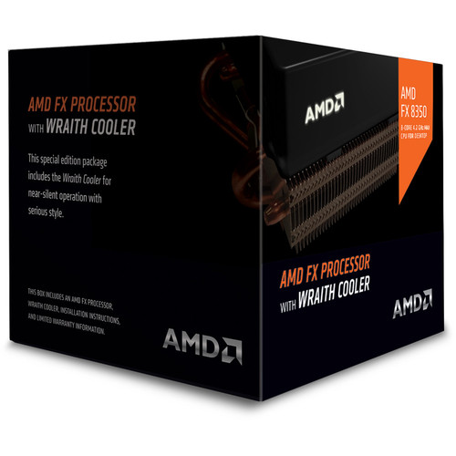AMD FX-8350 Black Edition (4.0 GHz) Wraith Cooler