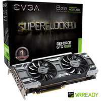 EVGA GeForce GTX 1080 SuperClocked GAMING ACX 3.0, 8 Go