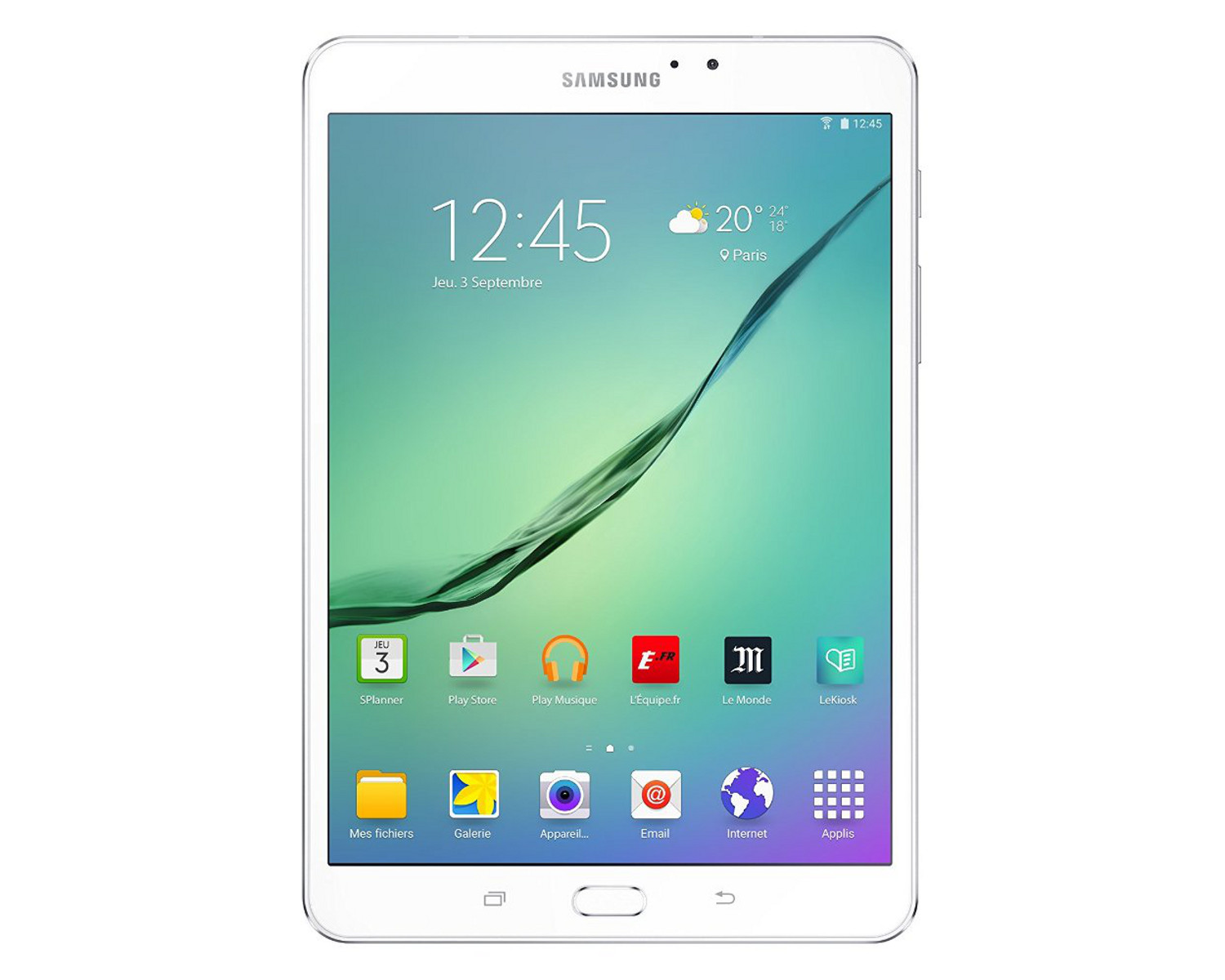 samsung galaxy tab s2 ve 9 7 39 39 32 go wi fi blanc achat pas cher avis. Black Bedroom Furniture Sets. Home Design Ideas