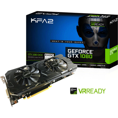 KFA2 GeForce GTX 1080 EXOC, 8 Go