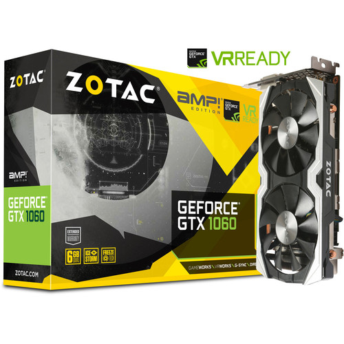 Zotac GeForce GTX 1060 AMP!, 6 Go