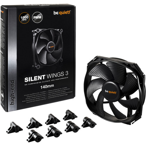 Be Quiet ! Silent Wings 3 PWM, 140 mm