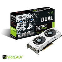Asus GeForce GTX 1060 DUAL, 3 Go