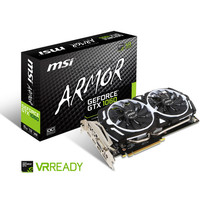 MSI GeForce GTX 1060 ARMOR 6G OCV1, 6 Go