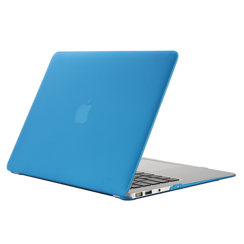 we coque de protection macbook pro 13 3 39 39 bleu achat pas cher avis. Black Bedroom Furniture Sets. Home Design Ideas