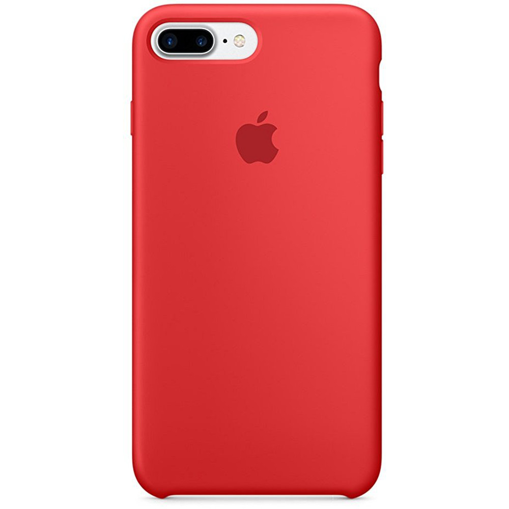 Apple iphone 7 plus silicone case rouge product achat for Interieur iphone 7