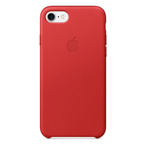 apple iphone 7 leather case rouge product top achat. Black Bedroom Furniture Sets. Home Design Ideas