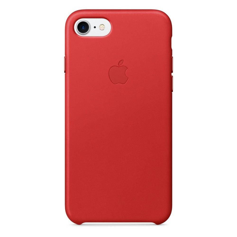 apple iphone 7 plus leather case rouge product top achat. Black Bedroom Furniture Sets. Home Design Ideas